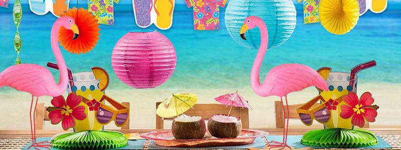 Sommarfest, flamingo temafest