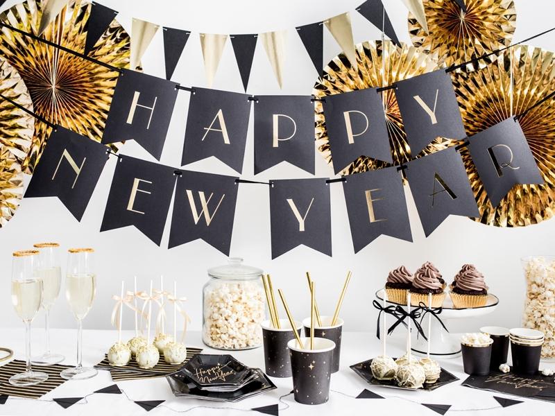 Nyårsdekoration och nyårsballonger