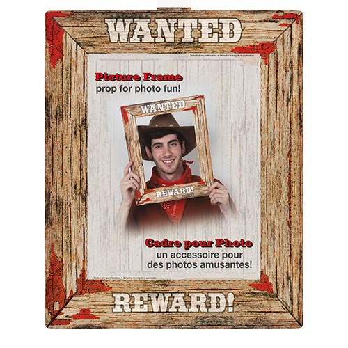 Wanted Poster, Rodeo Western