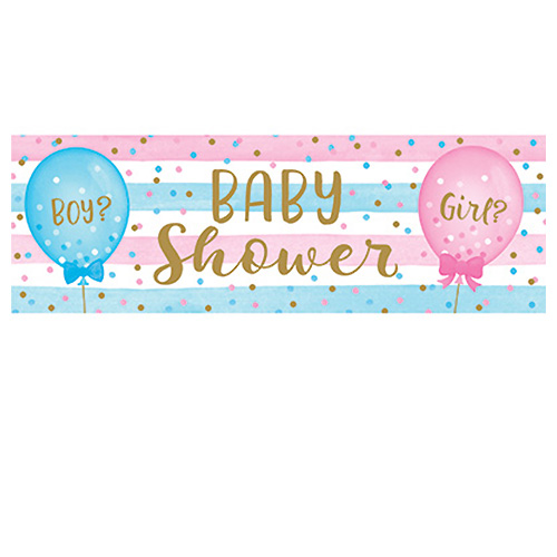 Banner Gender Reveal - 50x152cm