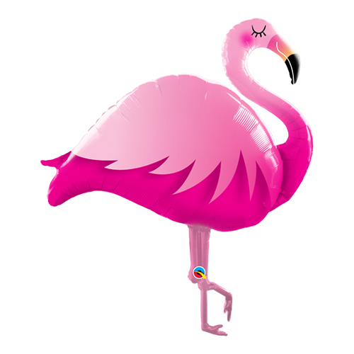 Flamingo - 117cm hög, Folieballong Shape