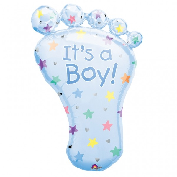 Babyfot It´s A Boy, Folieballong - 58x82cmcm