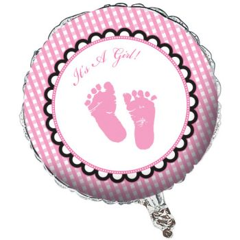 It´s A Girl Folieballong - 45cm