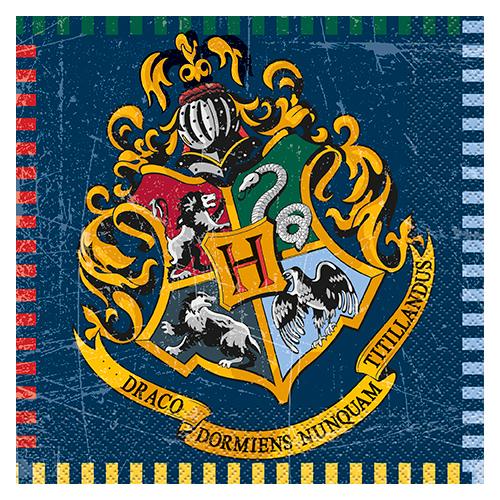 Servetter Harry Potter - 16st, 33x33cm