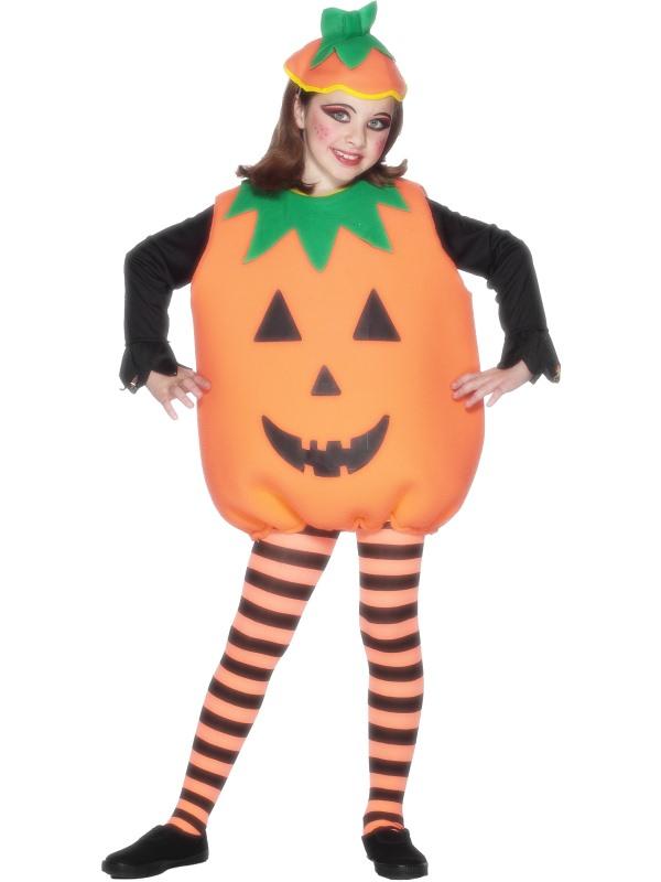 Halloween pumpa dräkt