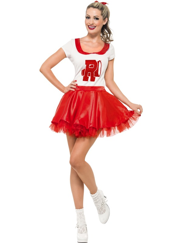 Sandy Cheerleader Kostym 4e12f94eedecc