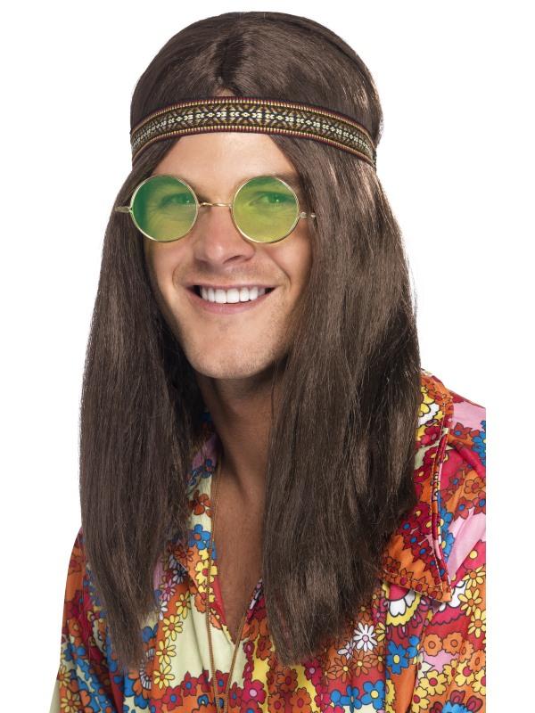 Hippie Chick Kit Hårband, Solglasögon & Smycken