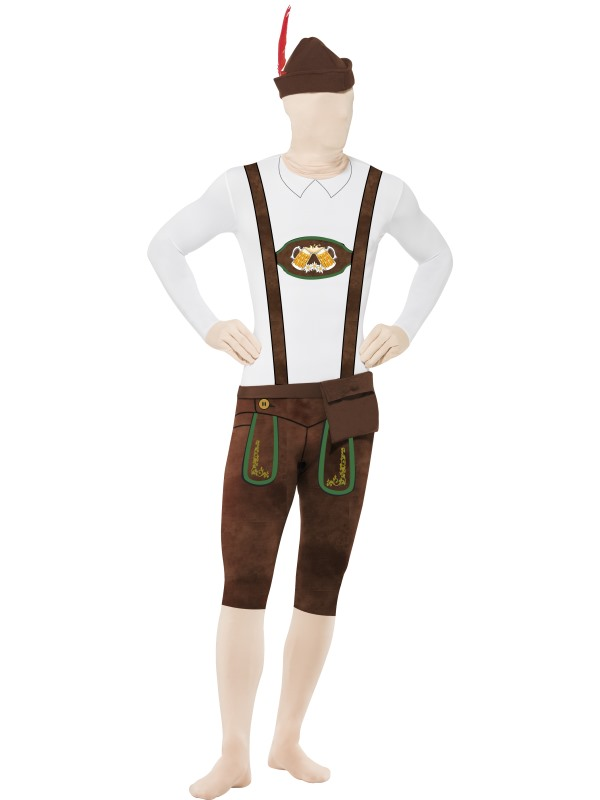 Bavarian Second Skin Suit, with Hat, Strl XL