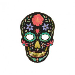 Ansiktmask i papp, Day of the dead - 1st, 19x28cm