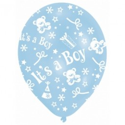 Ballong I'ts a Boy, Baby Shower 6st