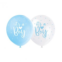 Ballong I'ts a Boy, Baby Shower 5st