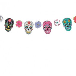 Girlang Day of the dead- 16cm x 1,2m