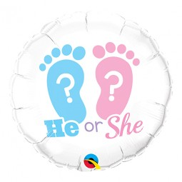 Gender Reveal Folieballong - 46cm