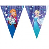 Flaggbanner Frozen Snow - 2,3m