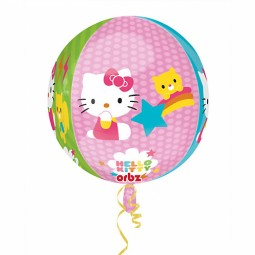 Hello Kitty - 40cm, Folieballong Rund