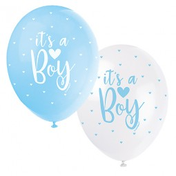Ballonger babyshower, Its a boy - 5st