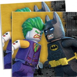 Servetter Batman Lego - 33x33, 20st