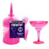 Margarita glas, Rosa - 10st, 355ml