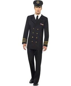 Marin Officer Man Maskeraddräkt - Strl M 1ff13a2484d7d