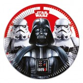 Tallrik Star Wars Final Battle - 23cm, 8st