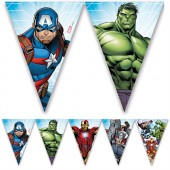 Flaggbanner Mighty Avengers