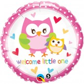 Welcome Little One Folieballong - 45cm